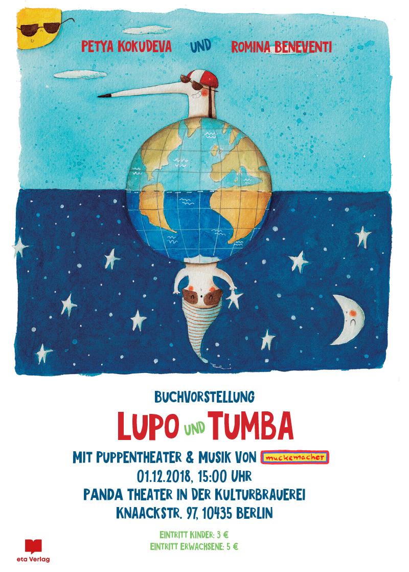 Buchvorstellung <br/>Lupo & Tumba