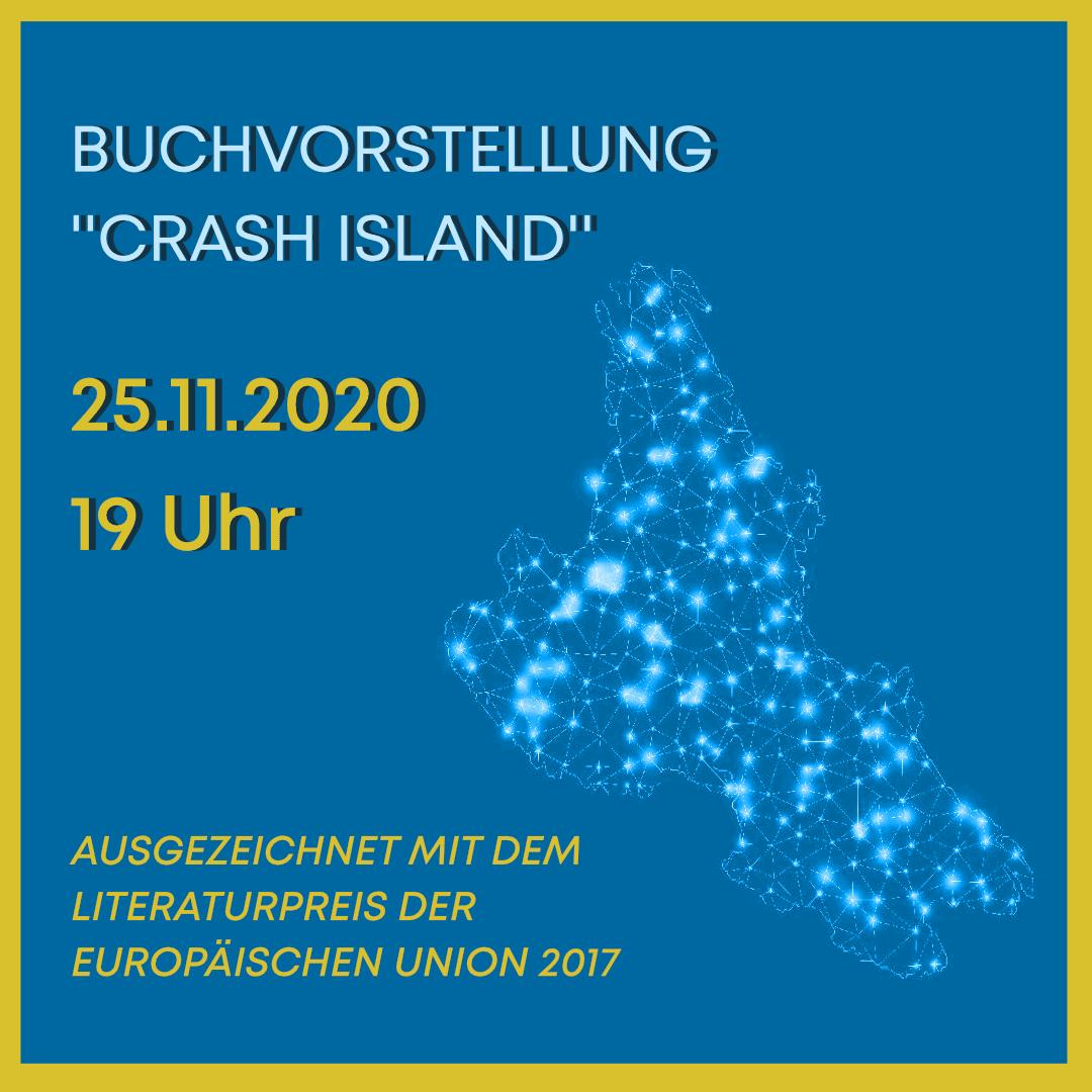 "Digitale Buchvorstellung ""Crash Island"""