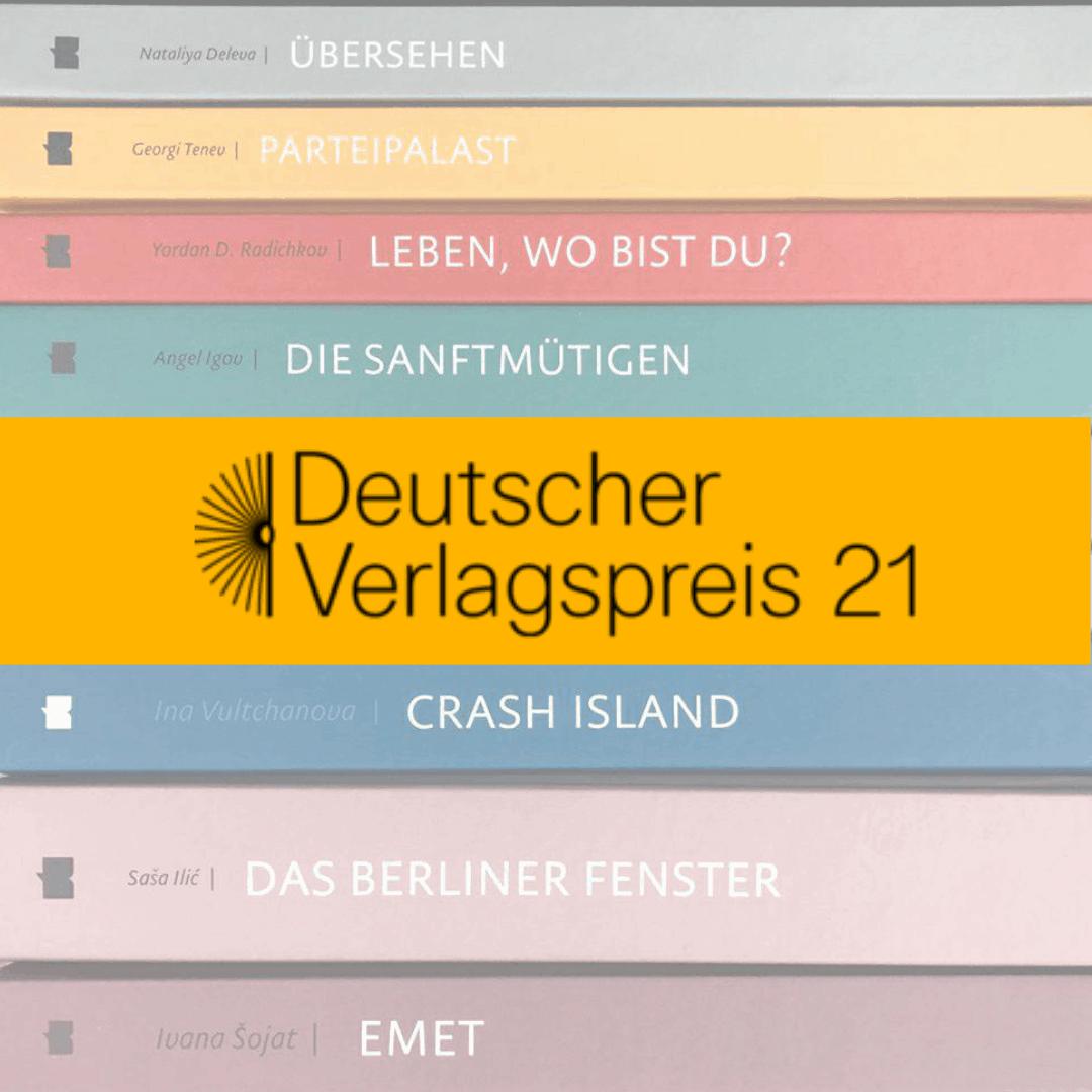 Wir haben den Deutschen Verlagspreis 2021 gewonnen!